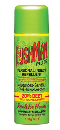 BUSHMANS INSECT REPELLANT 150GM
