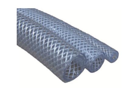 16MM CLEAR PVC BRAIDED PRESSURE HOSE