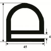 E SECTION DOOR SEAL  45MM X 45MM