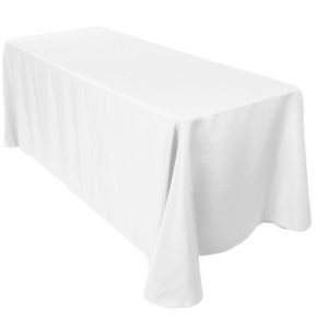 ECONOMY TABLECOVER WHITE 30MT