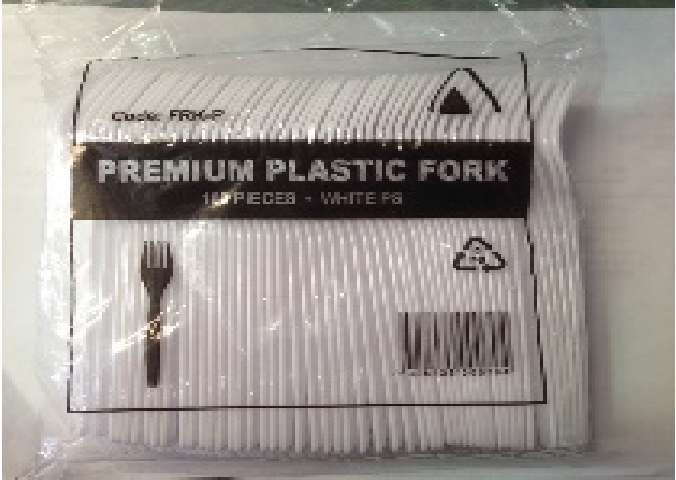 FORKS PLASTIC-PREMIUM,WHITE