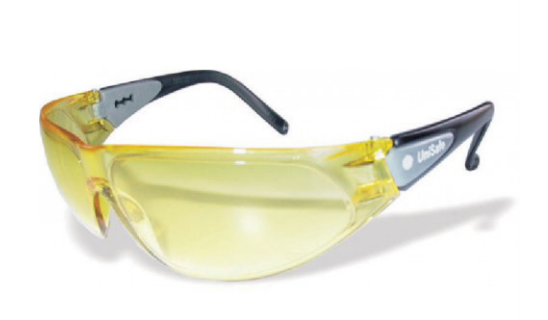 GLASSES SAFETY WOLF AMBER SNN330