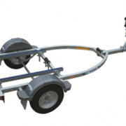 INFLATABLE BOAT TRAILER 4.2 - 5.3