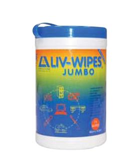LIV-WIPES ANTISEPTIC WIPES 75/TUB