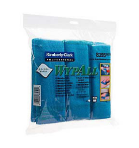 MICROFIBRE CLOTH WYPALL,BLUE 40X40CM