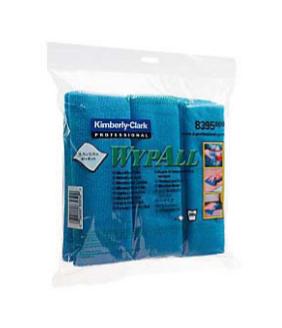 MICROFIBRE CLOTH WYPALL,BLUE 40X40CM