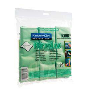 MICROFIBRE CLOTH WYPALL,GREEN 40X40CM