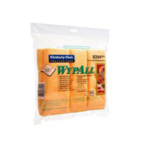 MICROFIBRE CLOTH WYPALL,YELLOW 40X40CM