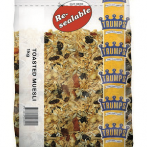 MUESLI TRUMPS 50 x 65gm