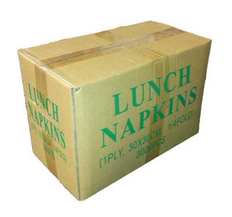 NAPKIN 1 PLY WHITE LUNCHEON #AC9030