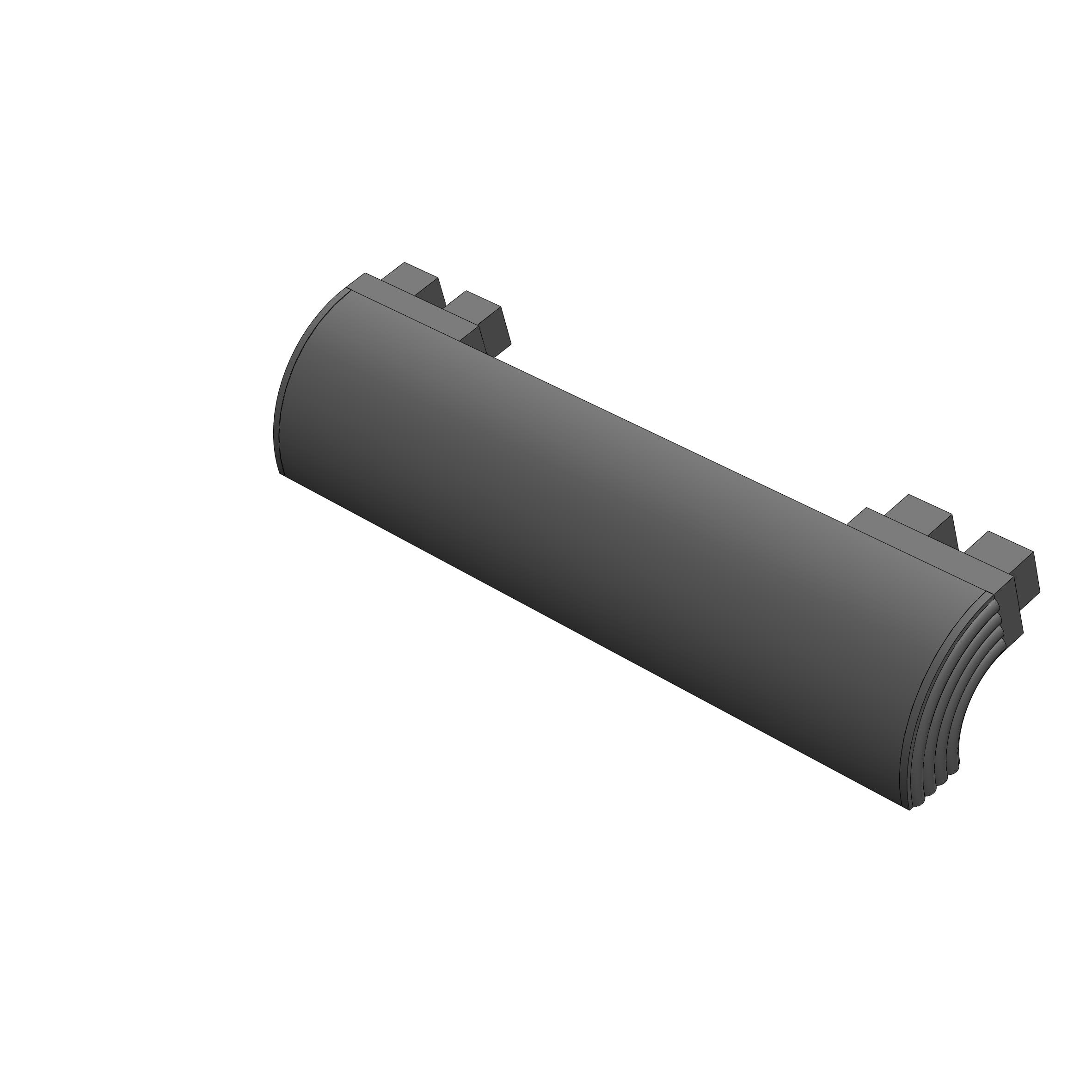 Side Protection Bar Header - 500mm