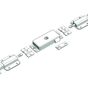Slam Latch Assembly 3 way