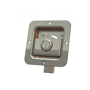 Flush Paddle Latch - Key Locking - K/A