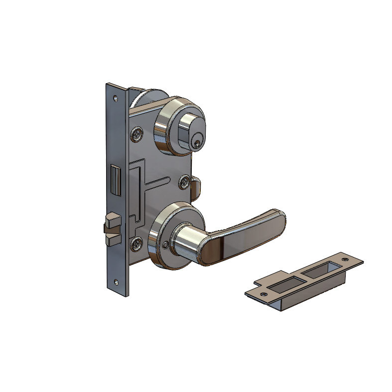 Stainless Steel Fire-Proof Door Locks