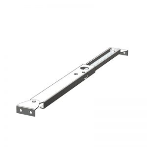 Telescopic Support Stay - 152/239mm 2 x Brackets