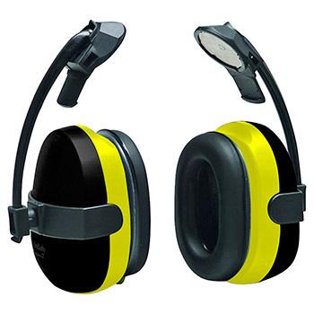 Cap attach earmuffs
