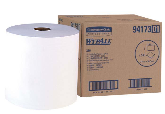 WYPALL X80 WIPER JUMBO ROLL 540sh