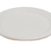 PL PLATE OVAL WHITE 320MM X 250MM
