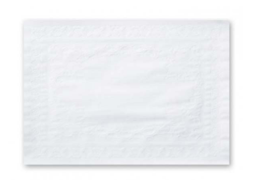 PLACEMAT EMBOSSED WHITE #4P1W
