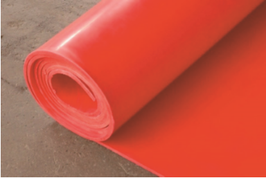 SILICONE RED RUBBER SHEET 1200 X 6MM