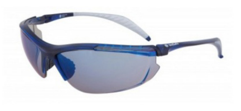 GLASSES SAFETY BUSTER BLUE MIR SNN101BM