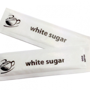 SUGAR STICKS WHITE