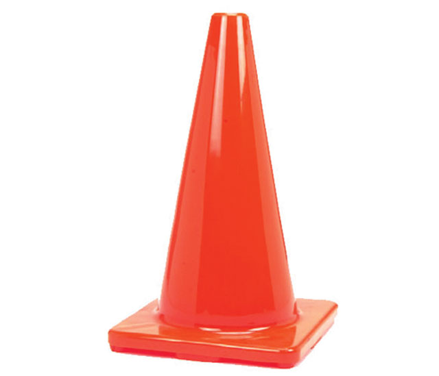 450mm Plain Traffic Cone